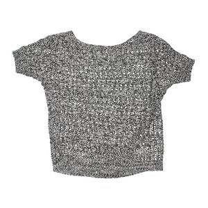 Merona Gray Marled Space Dyed Sweater